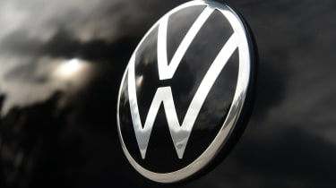 Volkswagen up! GTI hatchback rear VW badge
