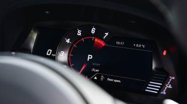 Toyota Supra digital dials