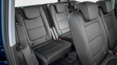 SEAT Alhambra MPV third row seats