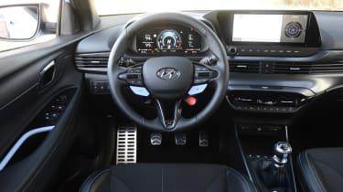 Hyundai i20 N hatchback interior