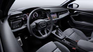 2020 Audi A3 Sportback - interior front angle