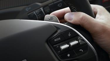 Kia EV6 - steering wheel detail