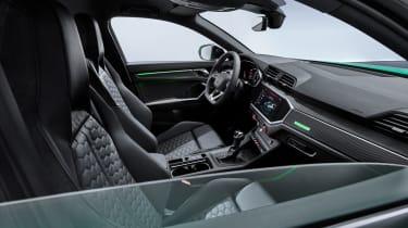 Audi RS Q3 Sportback interior - side view