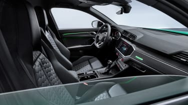Audi RS Q3 Sportback interior - side view