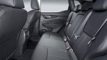 Nissan Qashqai 2014 rear seats