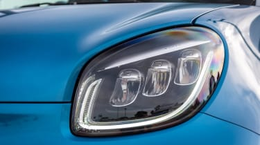 Smart EQ ForFour hatchback headlights