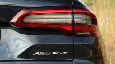 BMW X5 xDrive45e SUV rear lights