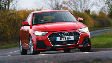 Audi A1 2019 front tracking 4
