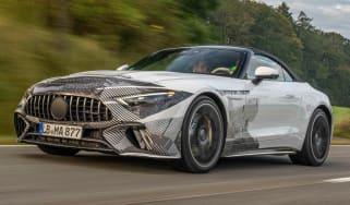 New 2021 Mercedes SL roadster