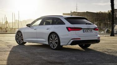 Audi A6 Avant plug-in hybrid rear view