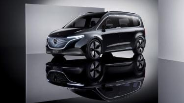 Mercedes Concept EQT - side static
