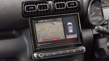 Citroen C3 Aircross SUV infotainment display