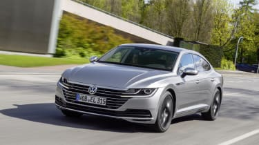 The Volkswagen Arteon aims to pinch customers from the likes of Mercedes, BMW and Audi.