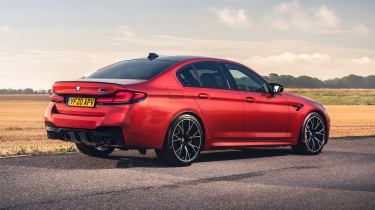 2021 BMW M5 Competition saloon - rear 3/4 static