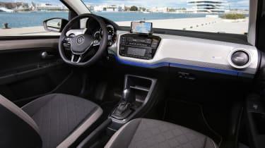 2019 Volkswagen e-up! hatchback - dashboard view