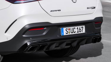 2020 Mercedes-AMG GLE 63 S Coupe rear diffuser