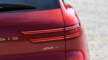 Genesis GV70 SUV rear lights