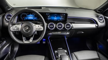 2019 Mercedes GLB - interior