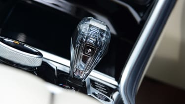 BMW 8 Series Gran Coupe saloon gearlever