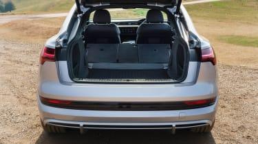 Audi e-tron Sportback SUV boot luggage area