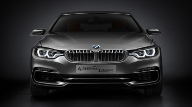 BMW 4 Series Coupe 2013 front static