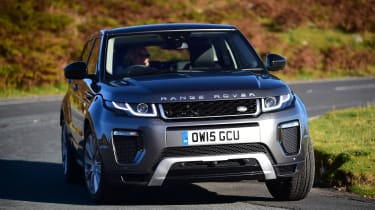 The Range Rover Evoque is very stylish, but still offers incredible off-road ability