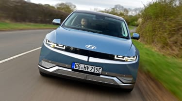 Hyundai Ioniq 5 drive - front tracking