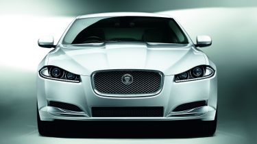 Jaguar XF saloon 2013 front static