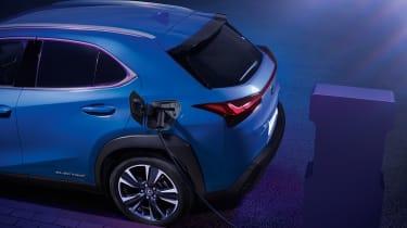 Lexus UX 300e rear
