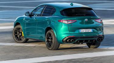 Alfa Romeo Stelvio Quadrifoglio rear view