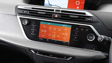 Feel trim levels and above get sat-nav and a 12-inch central display screen