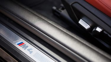 BMW M4 Coupe door sill
