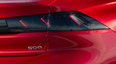 Peugeot 508 tail-light