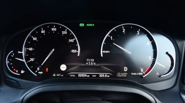BMW 3 Series instruments