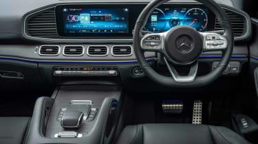 Mercedes GLE SUV Coupe interior