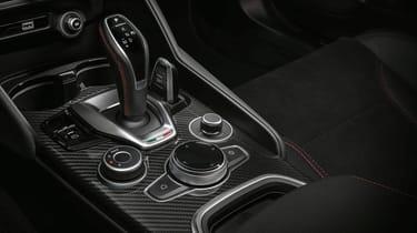 Alfa Romeo Giulia Quadrifoglio new centre console