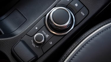 Mazda2 infotainment controls