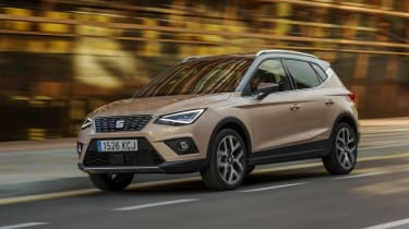 Its supermini chassis means agility is strong and the Arona never feels cumbersome or heavy to drive