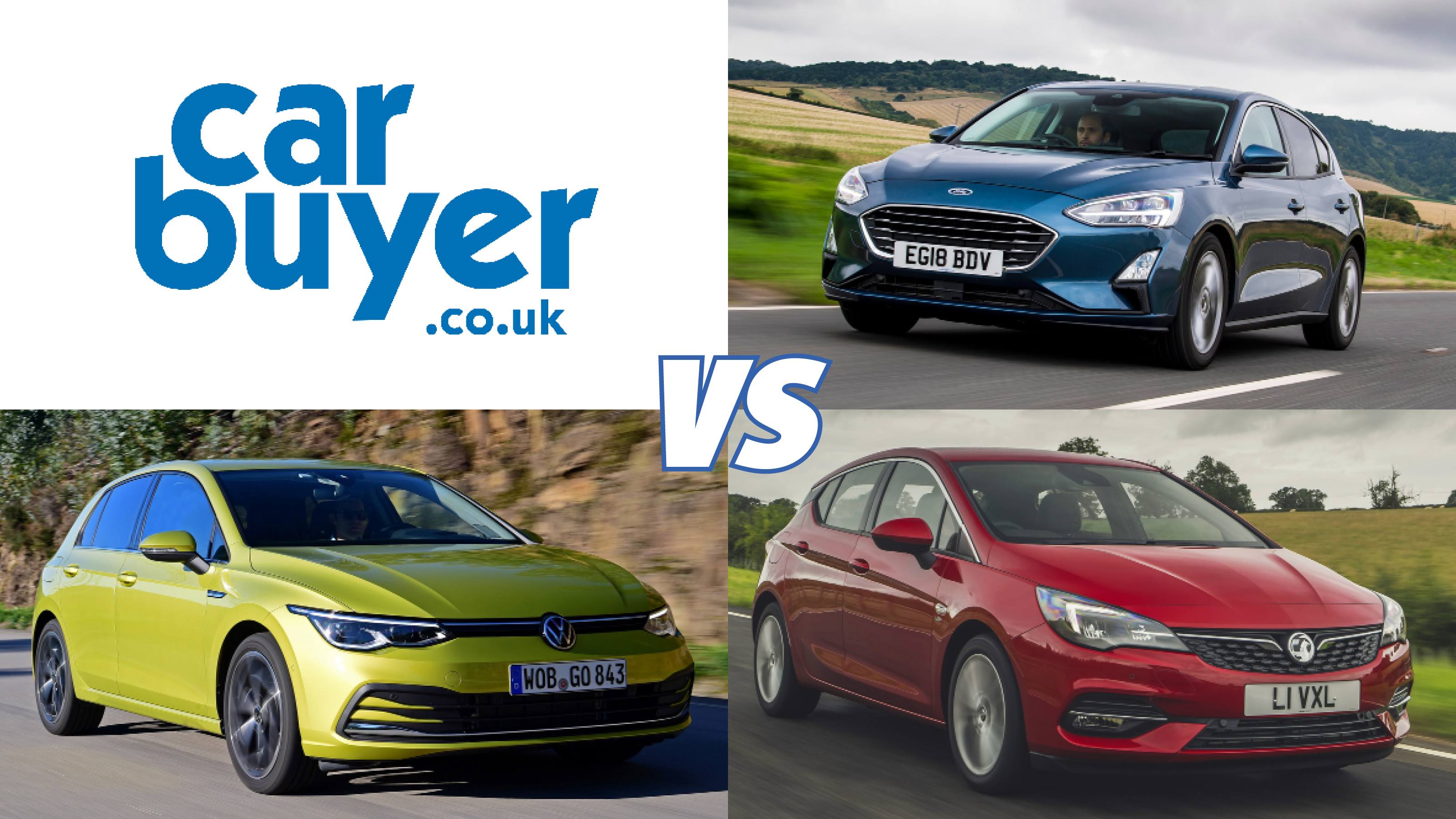 New Ford Focus Vs Vw Golf Vs Vauxhall Astra Rivals Comparison Carbuyer