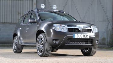 Dacia Duster SUV 2013 front quarter static