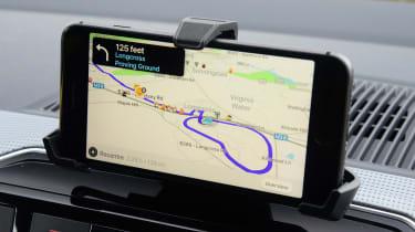 Skoda Citigo e iV hatchback smartphone cradle