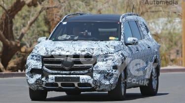 2019 Mercedes GLS image: Credit Automedia