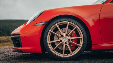 Porsche 911 coupe alloy wheels