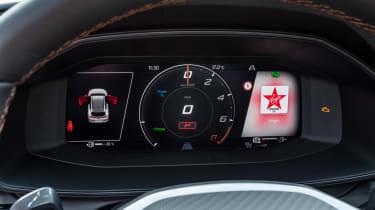 Cupra Formentor SUV review digital dashboard