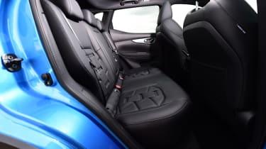 Nissan Qashqai - rear seats