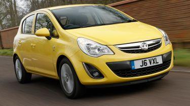Vauxhall Corsa deals 2013
