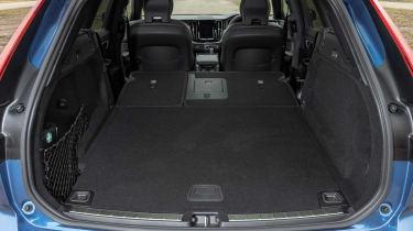 Volvo XC60 SUV boot seats down
