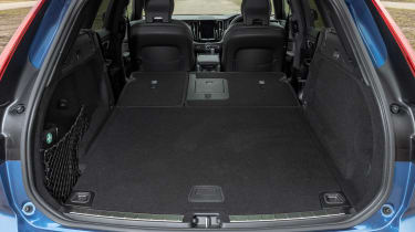Volvo XC60 SUV boot seats down