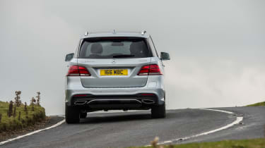 It's the all-electric mode that's key to the second part of the GLE500e's appeal...