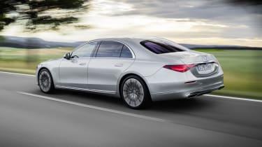 2020 Mercedes S-Class - rear 3/4 dynamic